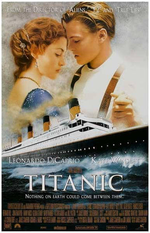 The Titanic Movie Rare Vintage Poster