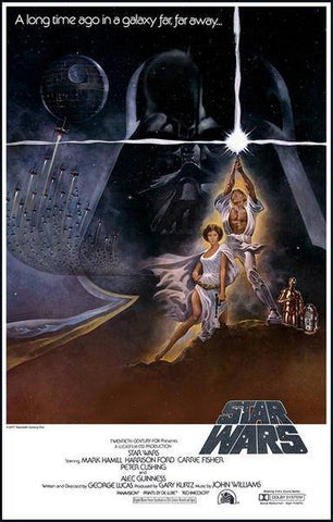 Star Wars Episode IV A New Hope  Rare Vintage Poster