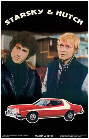 Starsky and Hutch  Rare Vintage Poster