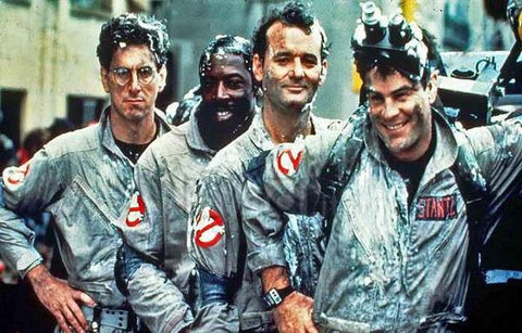 Ghostbusters  Movie Cast Rare Vintage Poster