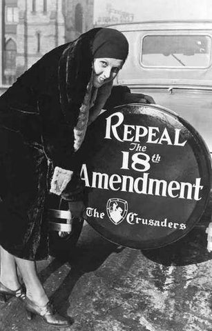 Repeal the 18th Amendment Anti-Prohibition  Rare Vintage Poster