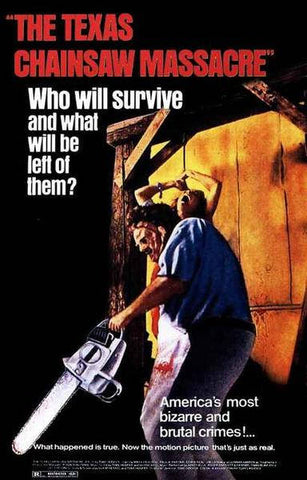 The Texas Chainsaw Massacre Who Will Survive Rare Vintage Poster