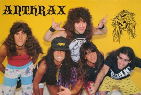 Anthrax Group Rare Poster