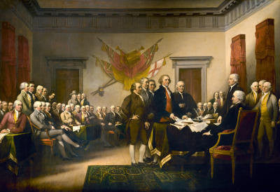 Declaration of Independence  Rare Poster