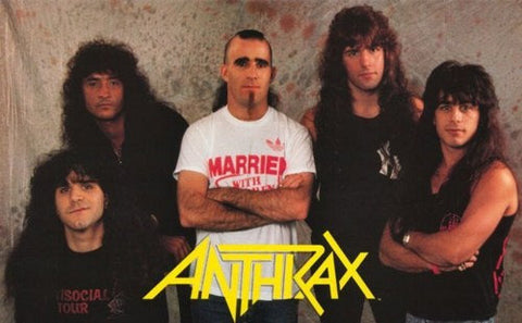 Anthrax Band  Rare Poster