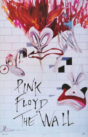 Pink Floyd The Wall Rare Poster