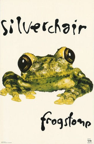 Silverchair Frog Stomp Rare Poster