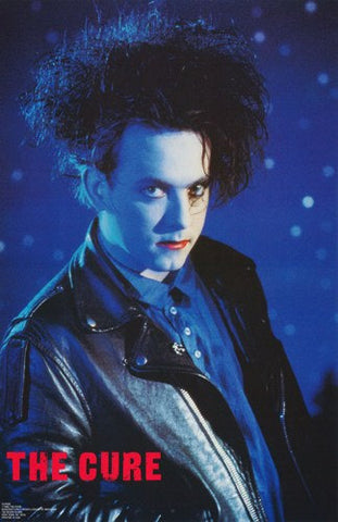 The Cure Robert Smith 1989 Rare Poster