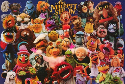 The Muppet Show Jim Henson Rare Poster