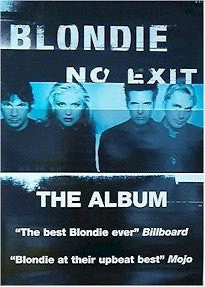 Blondie No Exit Rare Poster