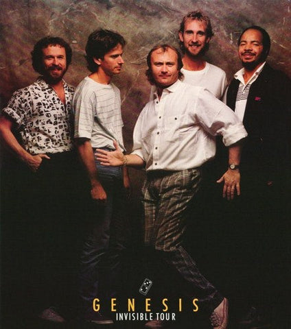 Phil Collins and Genesis 1986  Rare Poster