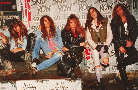 Skid Row Band Wall Rare Poster