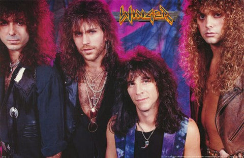 Winger Band Rare Poster