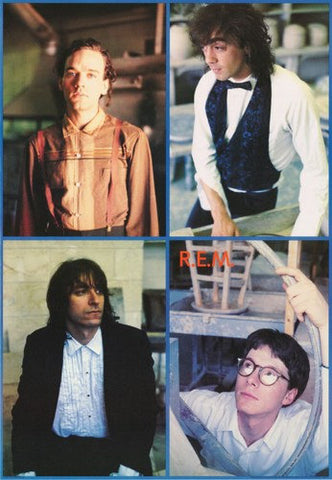 R.E.M. Band Collage Rare Poster