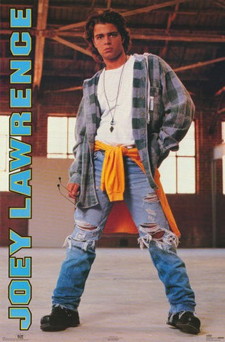 Joey Lawrence 1993  Rare Poster