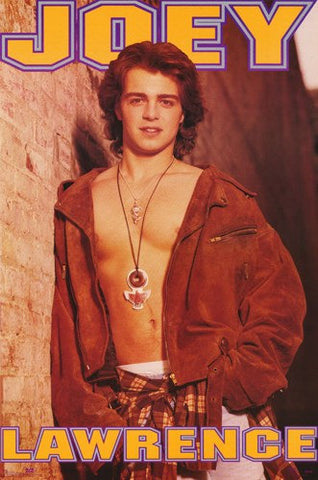 Joey Lawrence   Rare Poster