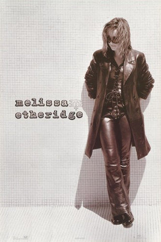 Melissa Etheridge Rare Poster