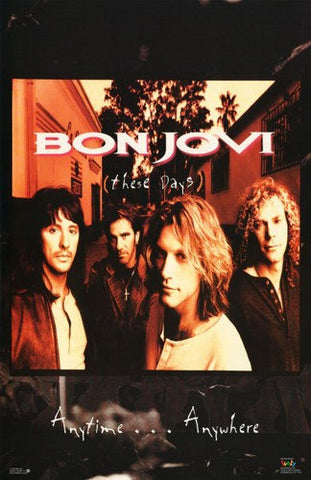 Bon Jovi These Days Rare Poster