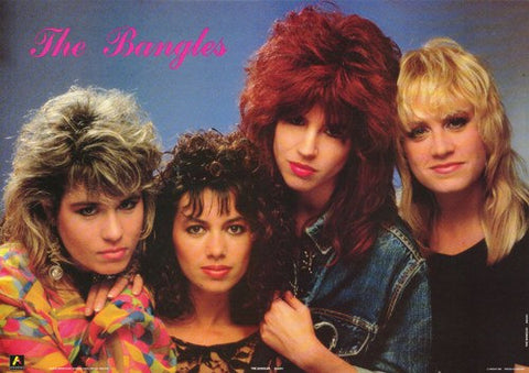 The Bangles 1986  Rare Poster