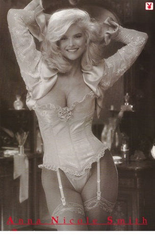 Anna Nicole Smith Playboy Rare Poster