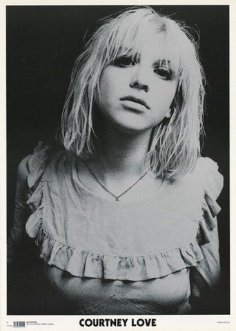 Courtney Love Close Up Hole  Rare Poster