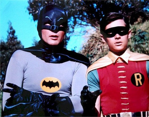 Batman and Robin Adam West Burt Ward  Rare Poster