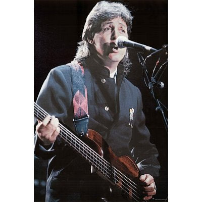 Paul McCartney In Concert  Rare Poster