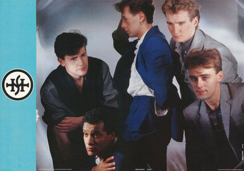 Simple Minds 1983  Rare Vintage Poster