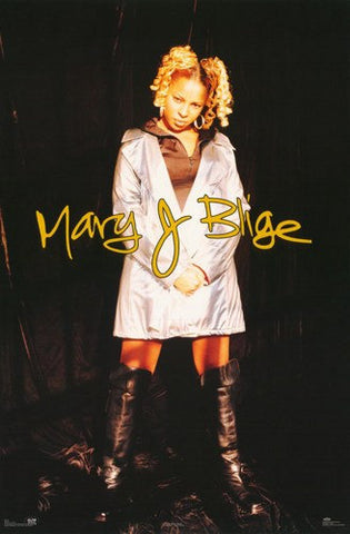 Mary J. Blige Black Boots  Rare Vintage Poster