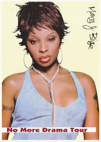 Mary J. Blige No More Drama Rare Vintage Poster