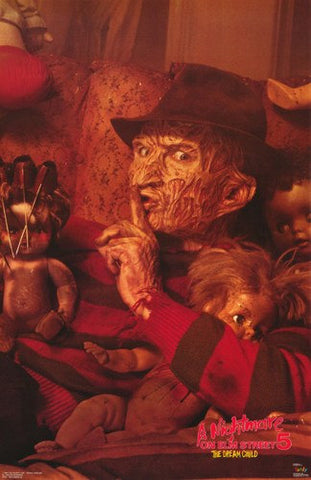 Nightmare On Elm Street Dream Child Rare Vintage Poster