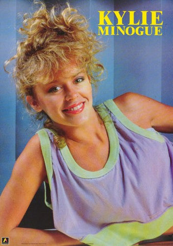 Kylie Minogue  1988  Rare Vintage Poster