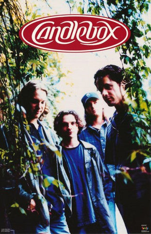 Candlebox Group Rare Vintage Poster