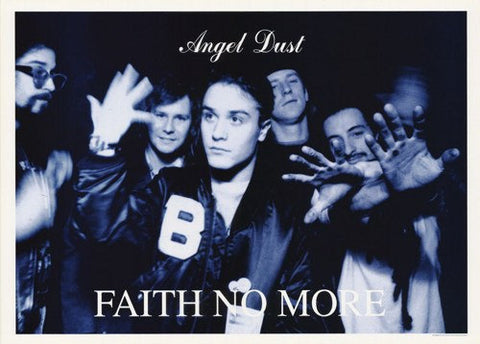 Faith No More Angel Dust Rare Vintage Poster