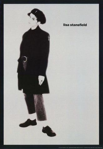 Lisa Stansfield 1990 Rare Vintage Poster
