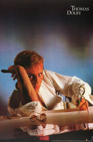 Thomas Dolby 1983  Rare Vintage Poster