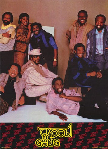 Kool and The Gang 1985  Rare Vintage Poster