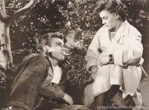 James Dean And Natalie Wood Rare Poster