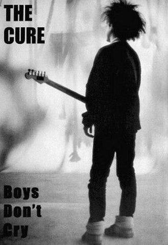 The Cure Robert Smith Boys Dont Cry  Rare Vintage Poster