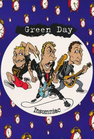 Green Day Insomniac  Rare Vintage Poster