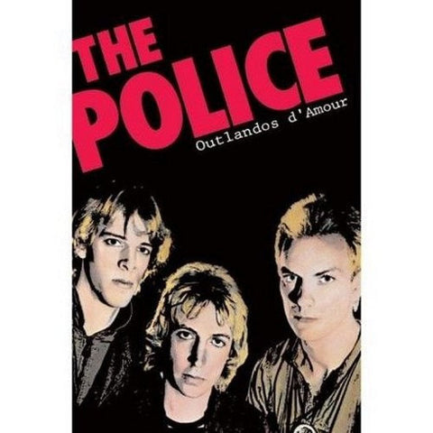Sting and The Police Oulandos d Amour  Rare Vintage Poster