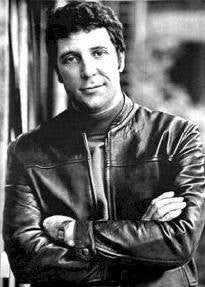 Tom Jones Leather Jackey Black and White Rare Vintage Poster