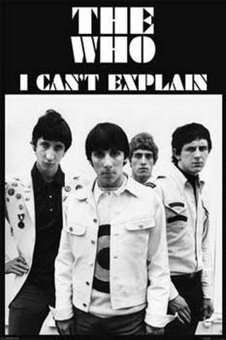 The Who Can't Explain  Rare Vintage Poster