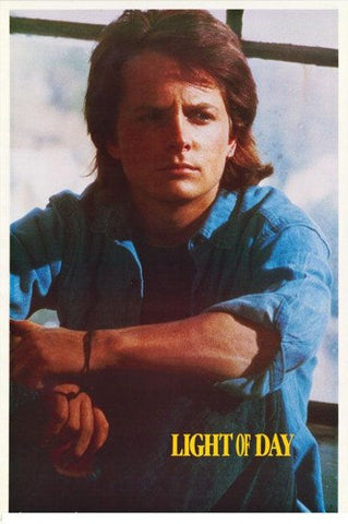 Michael J. Fox Light Of Day 1987  Rare Vintage Poster