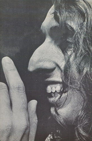 Tiny Tim Close Up 1970's  Rare Poster