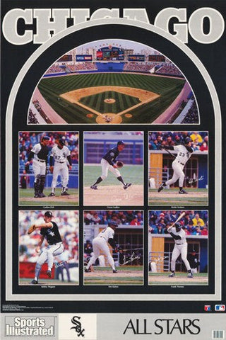 Chicago White Sox All Stars 1992 Rare Vintage Poster