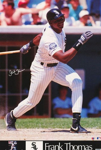 Frank Thomas Chicago White Sox Rare Vintage Poster