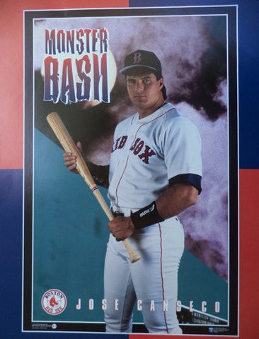 Jose Conseco Boston Red Sox Monster Bash Rare Vintage Poster