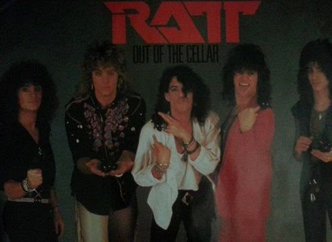 Ratt Out Of The Cellar 1984 Rare Vintage Poster