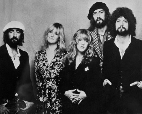 Fleetwood Mac B/W 8x10 Photograph